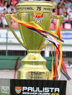 Taça de campeão paulista da segunda divisão