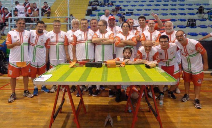 Portuguesa Santista conquistou a nona colocação no Torneio Início de Futebol de Mesa