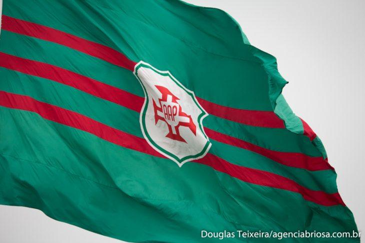 Bandeira da Portuguesa Santista