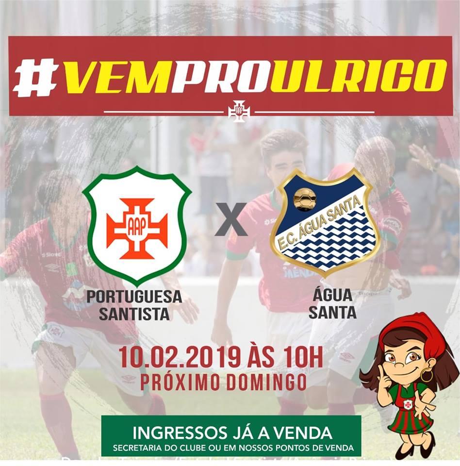 baaf32ad63 Portuguesa Santista e Água Santa  ingressos à venda – Site oficial ...