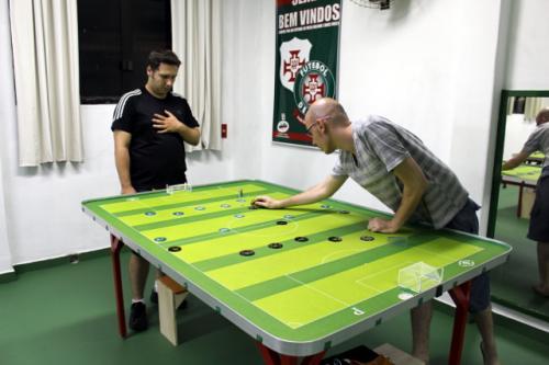 Futebol de mesa da Portuguesa Santista